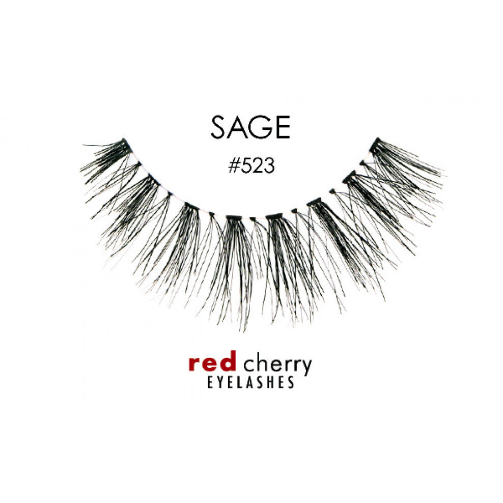 Red Cherry False Lashes #523 Sage
