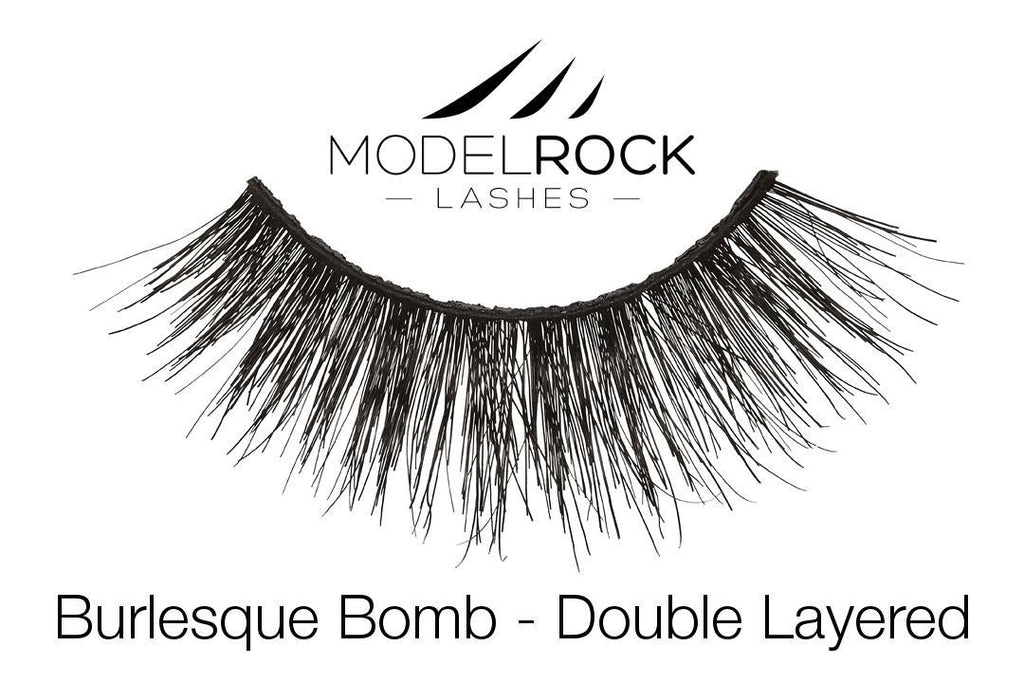 Model Rock Lashes Burlesque Bomb - Double Layered Lashes