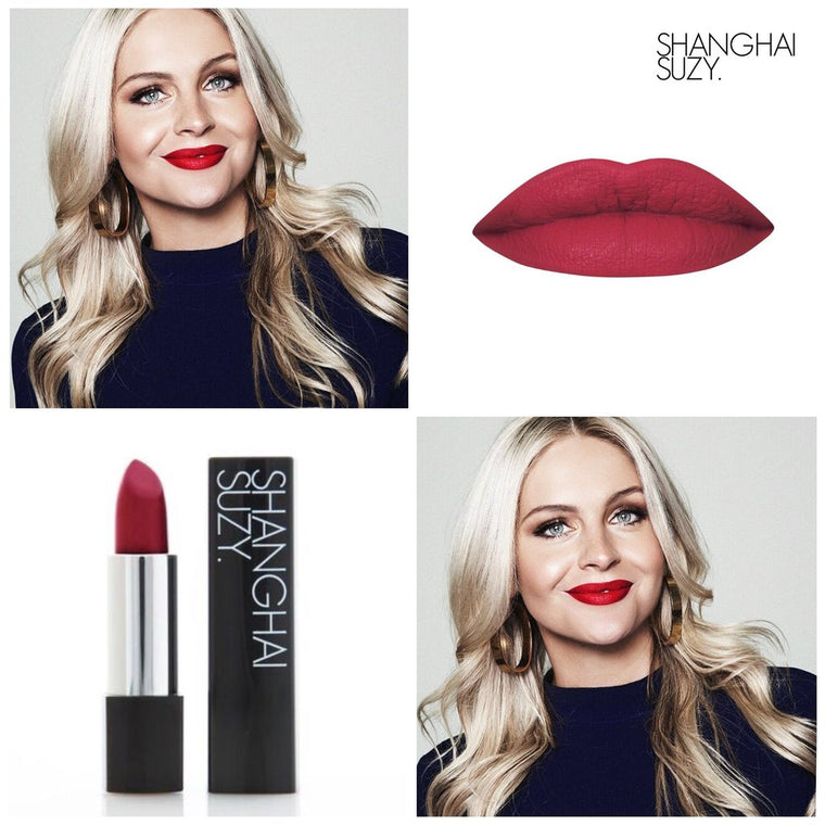 Shanghai Suzy Miss Hannah Blood Red, Whipped Matte Formula
