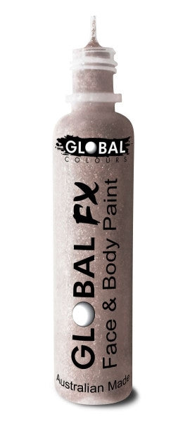 Global FX CRYSTAL WHITE GLITTER 36mL