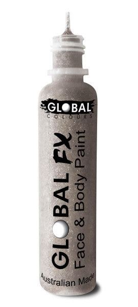 Global FX HOLOGRAPHIC SILVER GLITTER 36mL