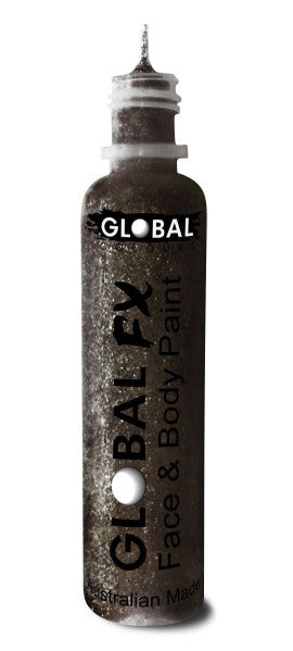 Global FX JET BLACK GLITTER 36mL