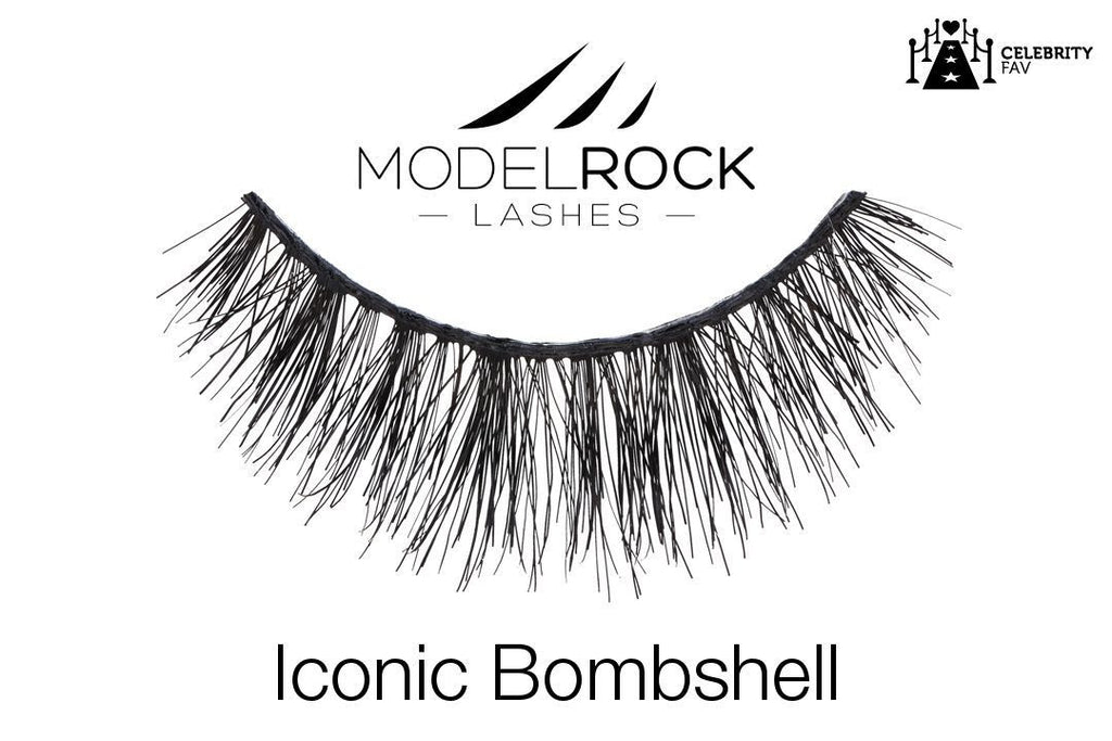 Model Rock Lashes Iconic Bombshell - Double layered Lashes