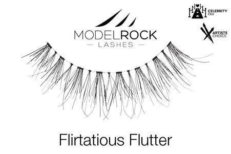 Model Rock Lashes Flirtatious Flutter