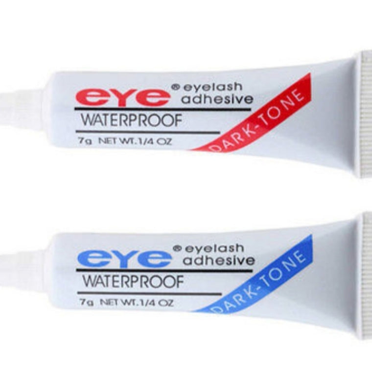 Waterproof Eyelash Adhesive (Clear or Black)