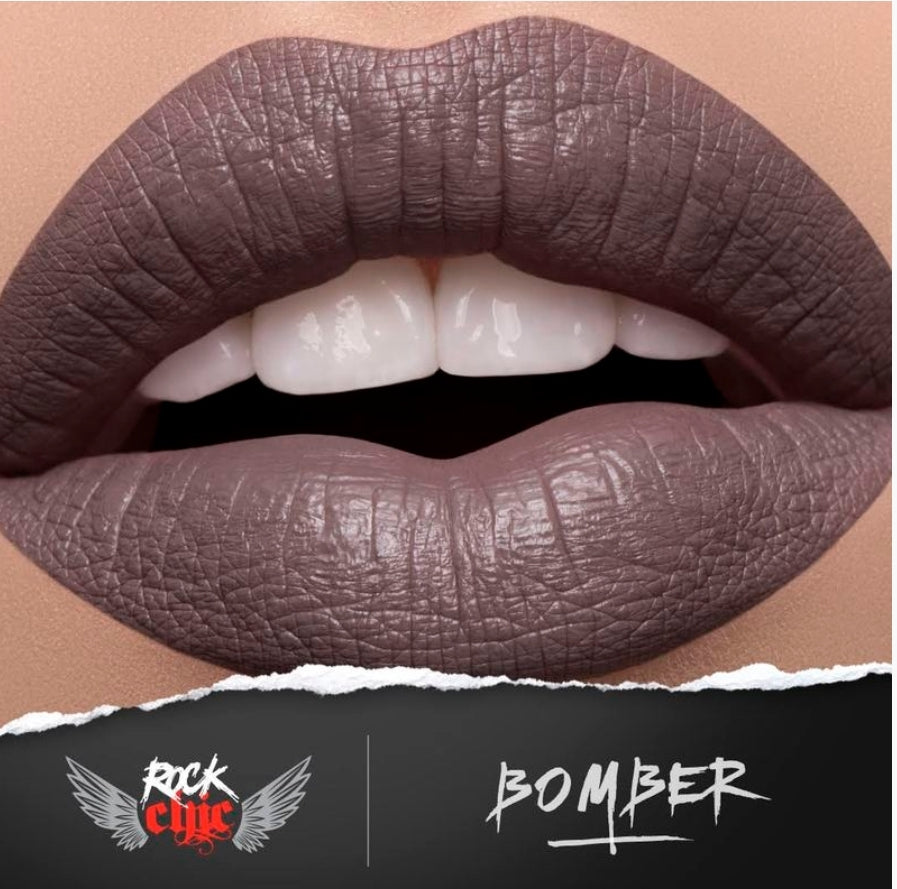 ROCK CHIC Liquid Lipstick - 'BOMBER'
