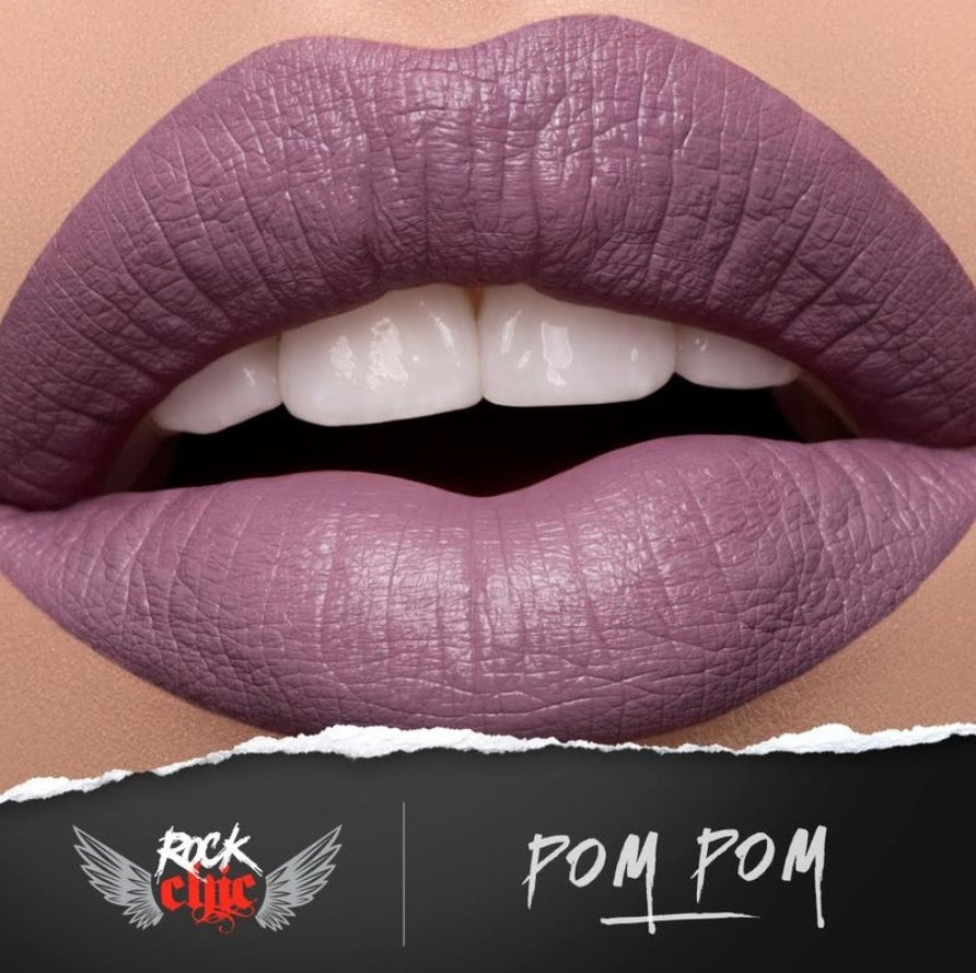 ROCK CHIC Liquid Lipstick - 'POM POM'