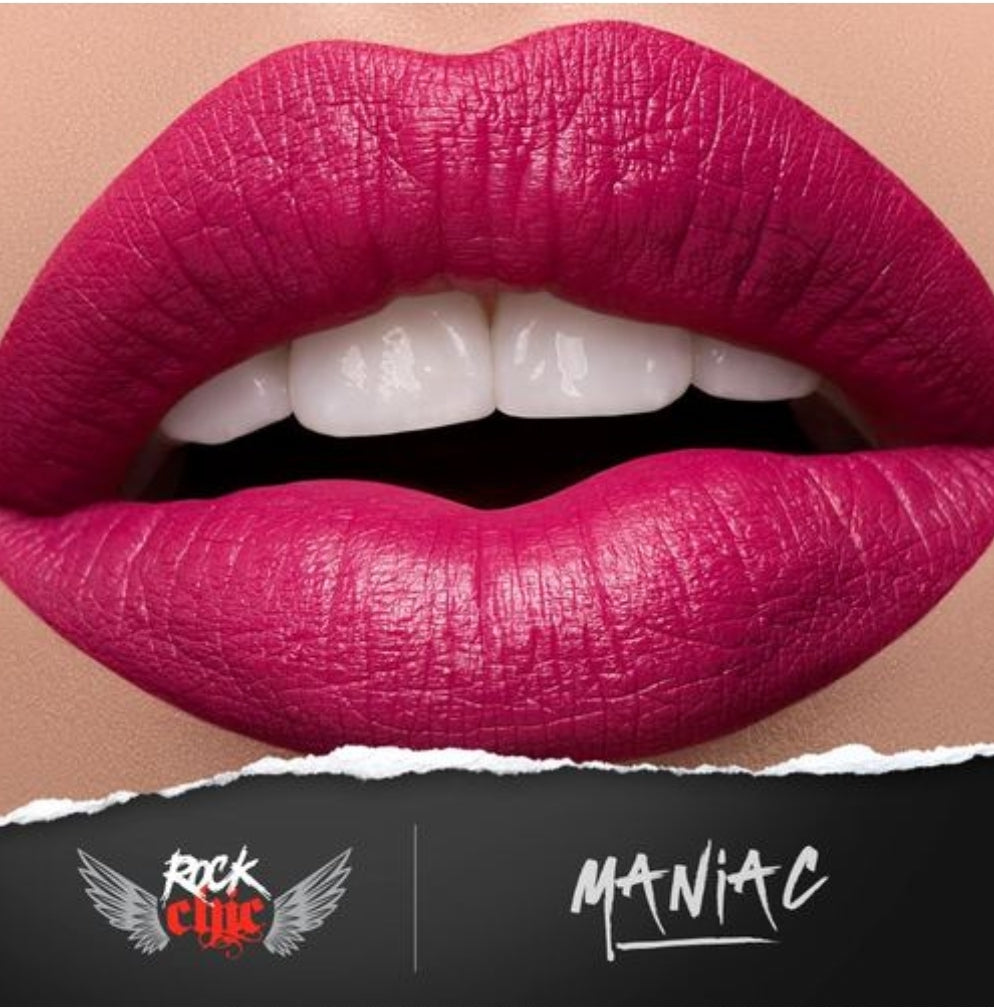 ROCK CHIC Liquid Lipstick - 'MANIAC'