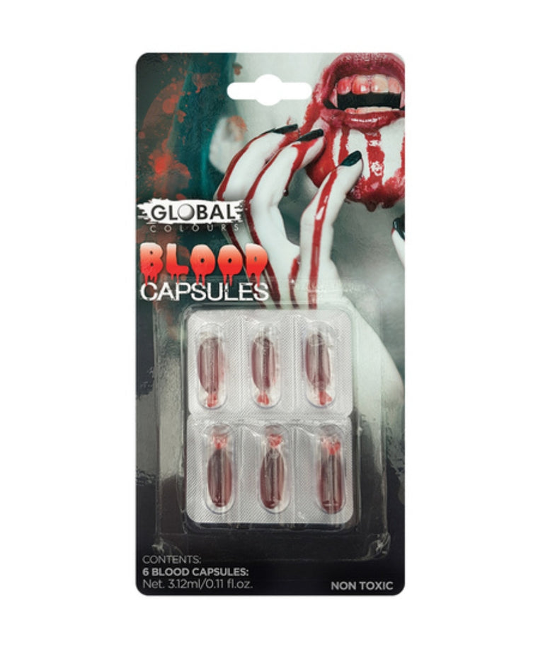 Global Colours Blood Capsules