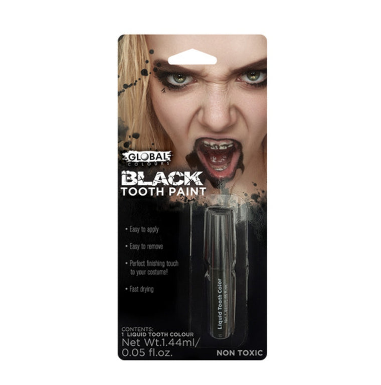 Global Colours Black Tooth Paint