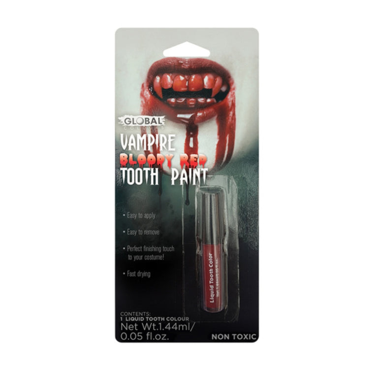 Global Colours Tooth Paint Red
