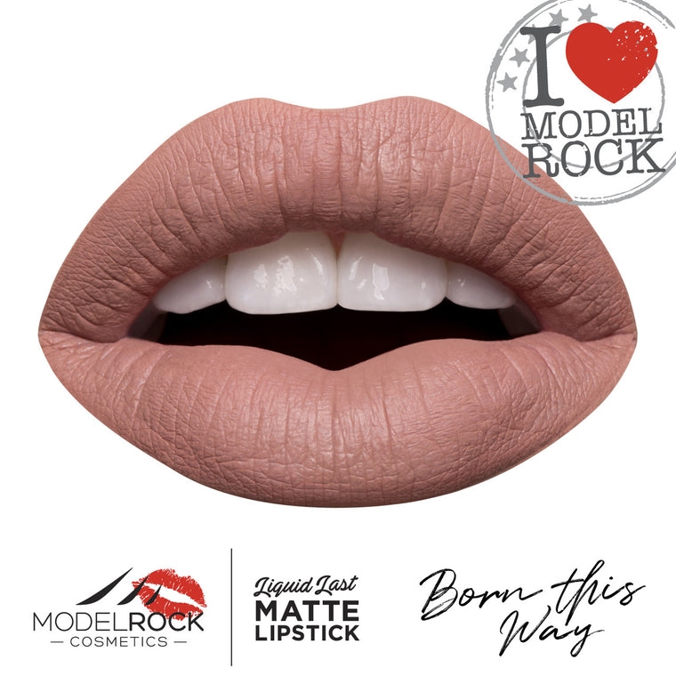Model Rock Liquid Last liquid to Matte Lipstick - **BORN THIS WAY**
