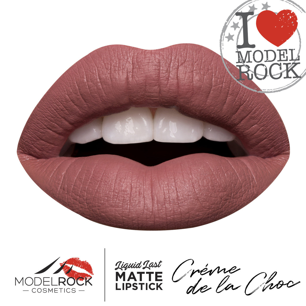Model Rock Liquid Last liquid to Matte Lipstick - **CREME DE LA CHOC**