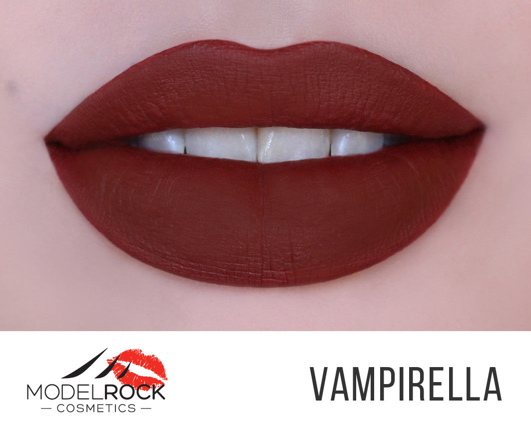Model Rock Liquid Last liquid to Matte Lipstick - **VAMPIRELLA**