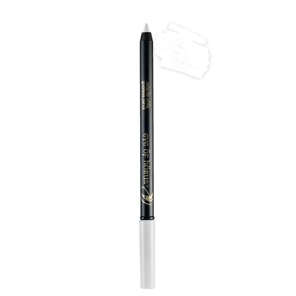 Eye Of Horus - Selenite White Goddess Pencil