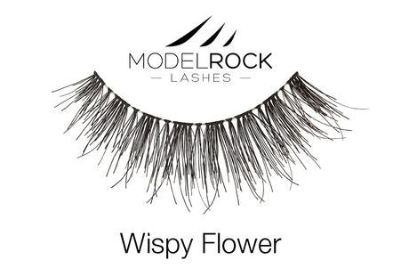 Model Rock Lashes Wispy Flower