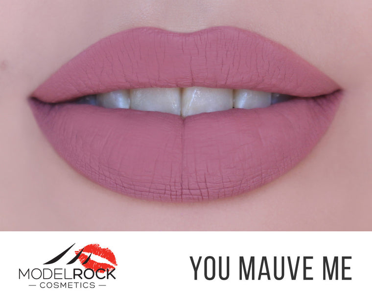 Model Rock Liquid Last liquid to Matte Lipstick - **YOU MAUVE ME**