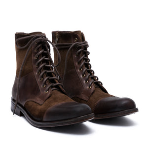 Army - leather boots