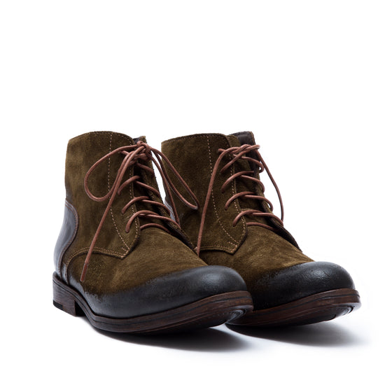 B.Rebel - suede leather boots