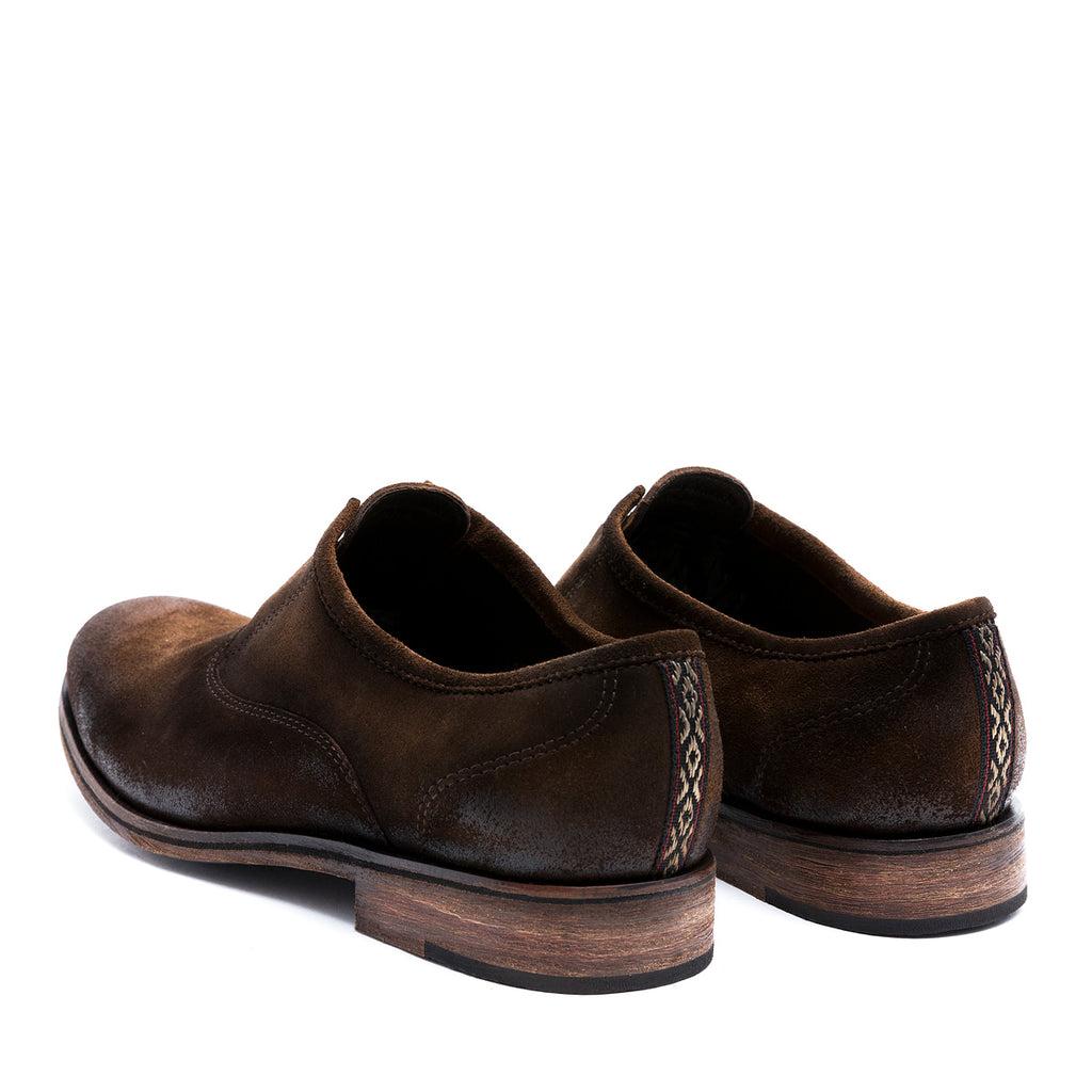 Chelo Brown - suede leather shoes