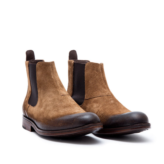 PERKS ! Chelsea Beach - suede leather boots