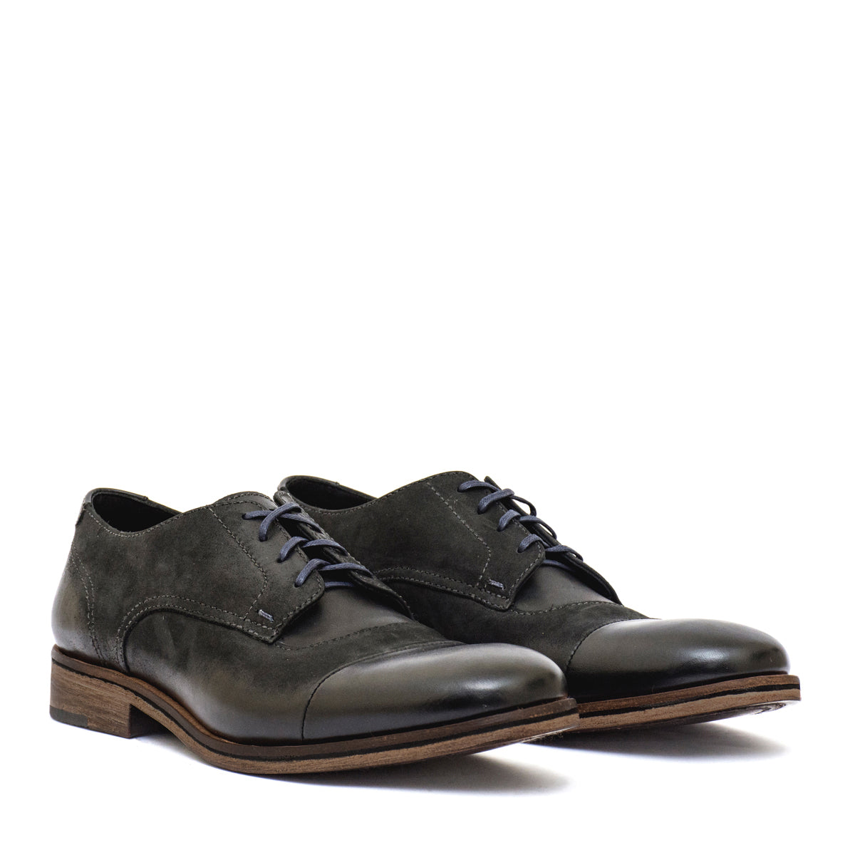 world-wide selection of choose best unique style D.POLO Black - leather shoes