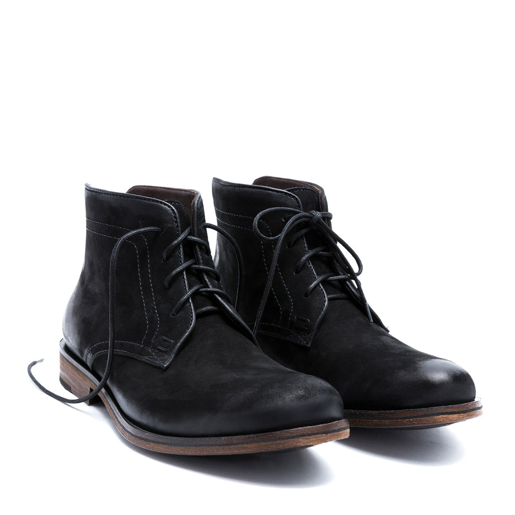 Bastian - nobuk leather boots