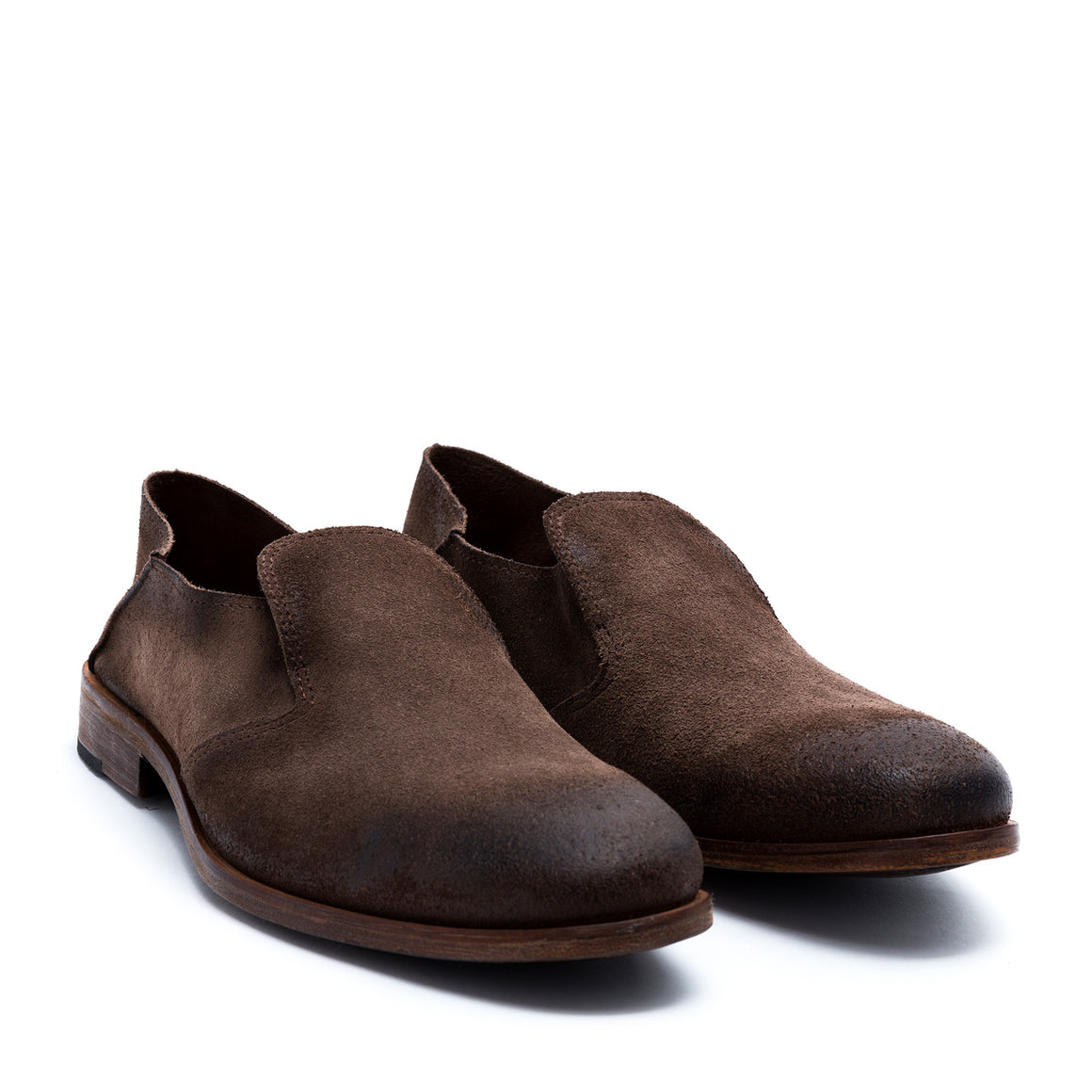Saxon - suede leather shoes