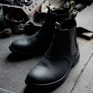 Chelsea T.T. Black - collab OTRA work boots