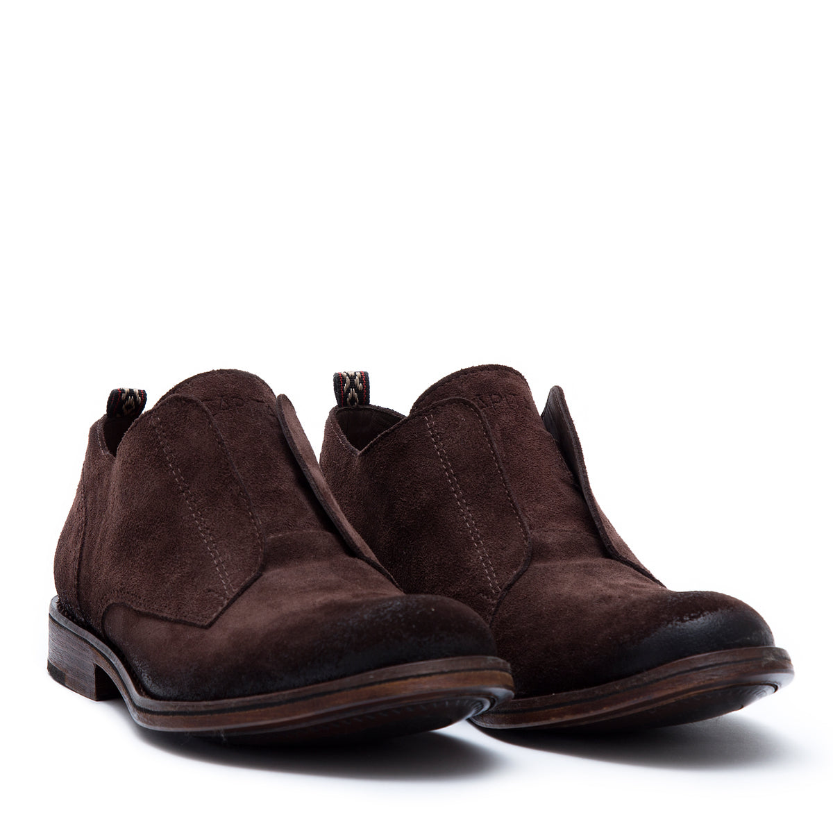Wooster Brown - Nobuk leather shoes