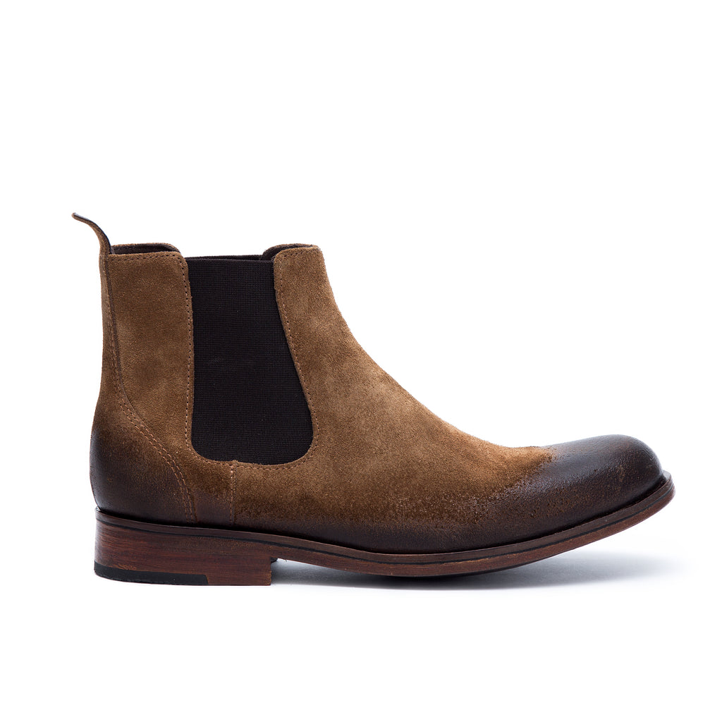 Chelsea Beach - suede leather boots