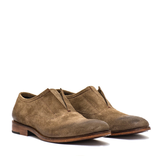 Slipper Dune - suede leather shoes