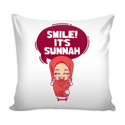 Smile! It's Sunnah Pillow Cover