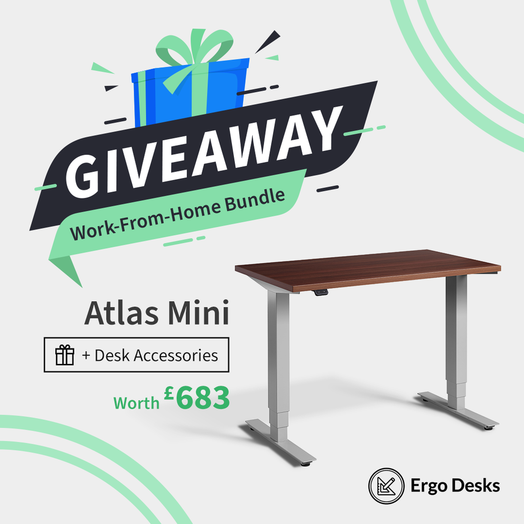 The Ergo Desks Working from Home Giveaway!