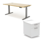 Autonomy Pro Electric Desk + Drawers