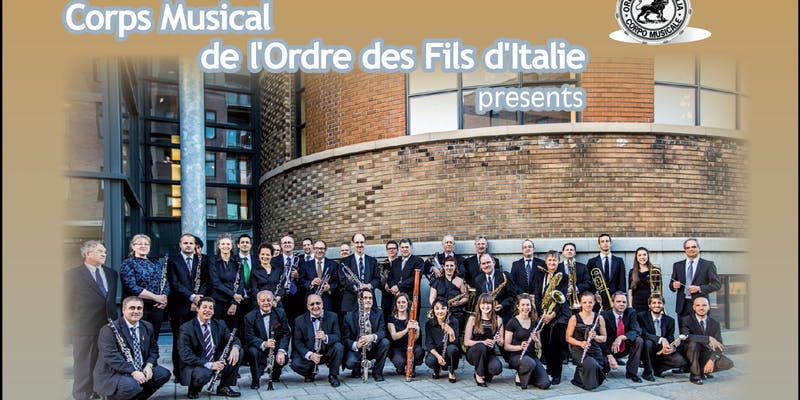 Corps Musical de l'Ordre des Fils d'Italie / Sons of Italy Concert on the lawn