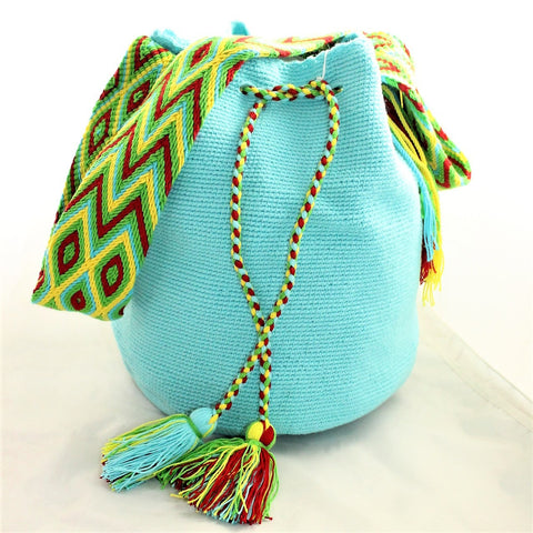 Bolso Wayuu - 023 - Model 1color - SHAMEN Barcelona