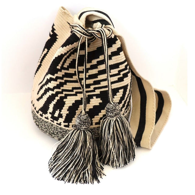 Zebra Cross Body Wayuu