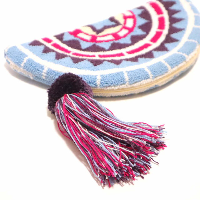 Half Moon Wayuu Clutch