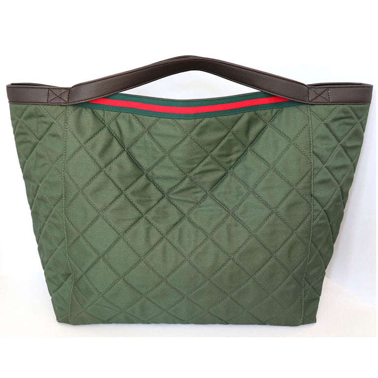 "TOTE Bag ""Padded"" Olive green"