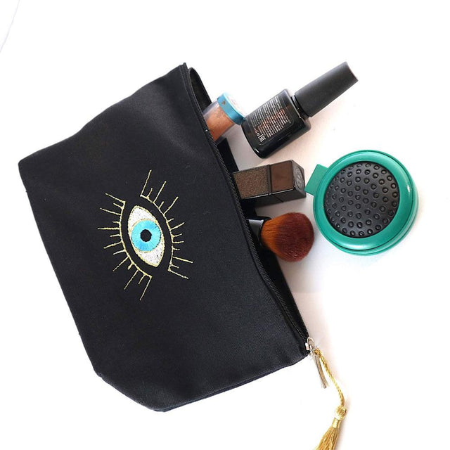 Medium Evil Eye Make up Bag