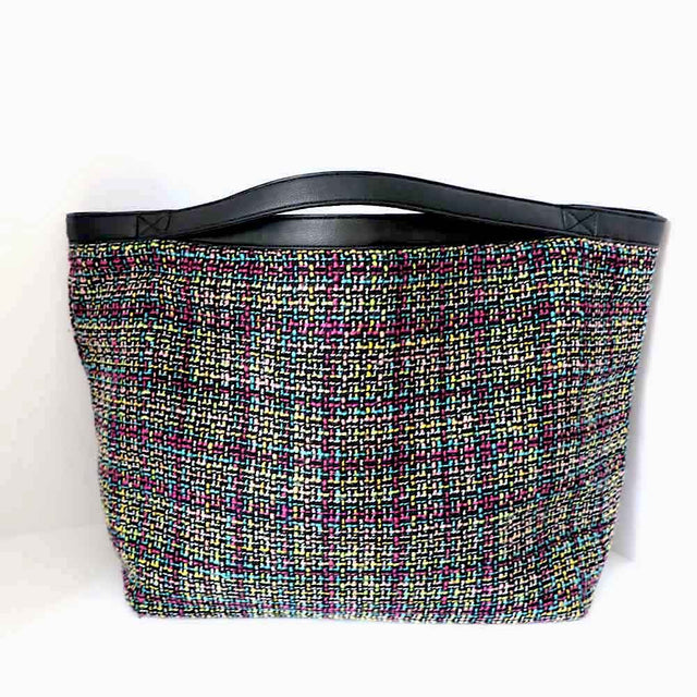 Tweed Bag Multi Color