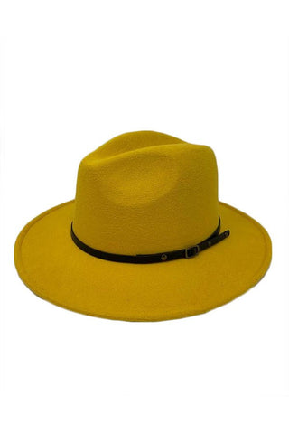 Mustard Winter Fedora-