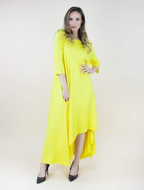 Yellow Free Falling Tunic