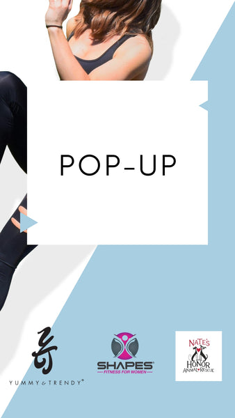Yummy & Trendy Pop-Up | Shapes Fitness Charity Event