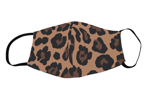 Leopard Luxe Face Mask