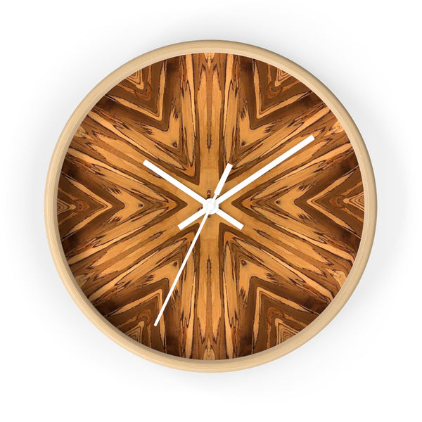 The Kaleidoscope Wood Wall Clock