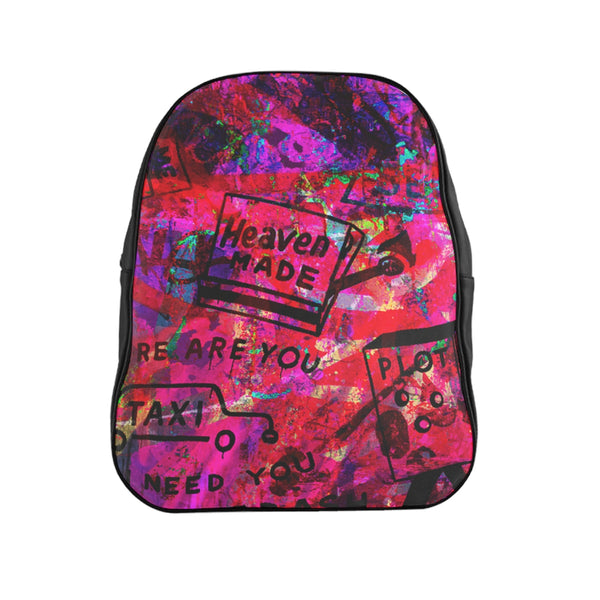 """ABSTRACT STREET ART"" BACKPACK"