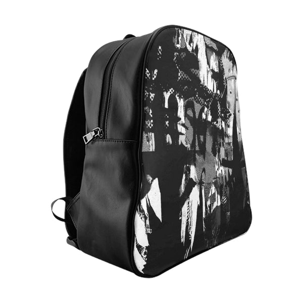 """ABSTRACT ART"" SCHOOL BACKPACK"