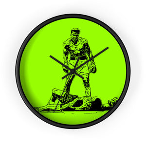"""THE GREATEST"" GREEN WALL CLOCK"